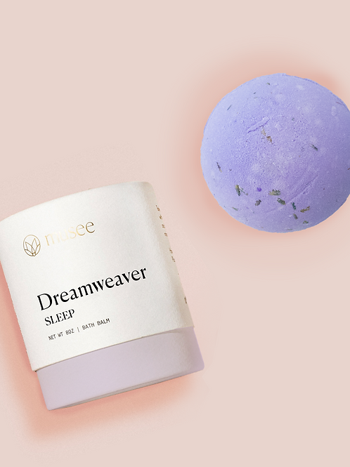 Musee Sleep Boxed Bath Balm, Dreamweaver