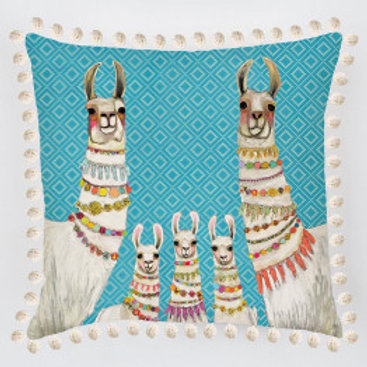 Necklace Llama Pillow