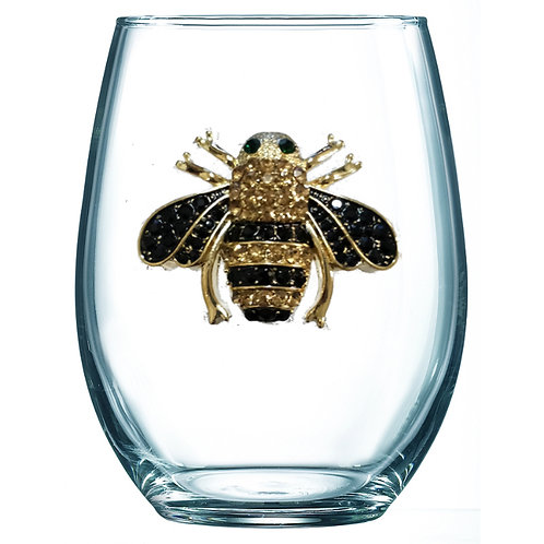 Queen's Jewels Stemmed Wine Glass