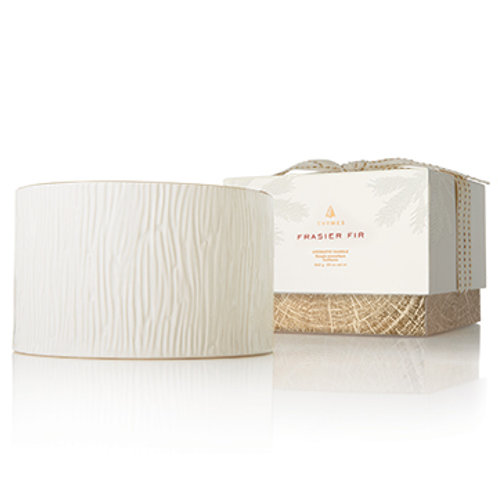Thymes, Frasier Fir Ceramic 3-Wick Candle