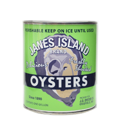 Annapolis Candle, Vintage Janes Island Oyster Candle