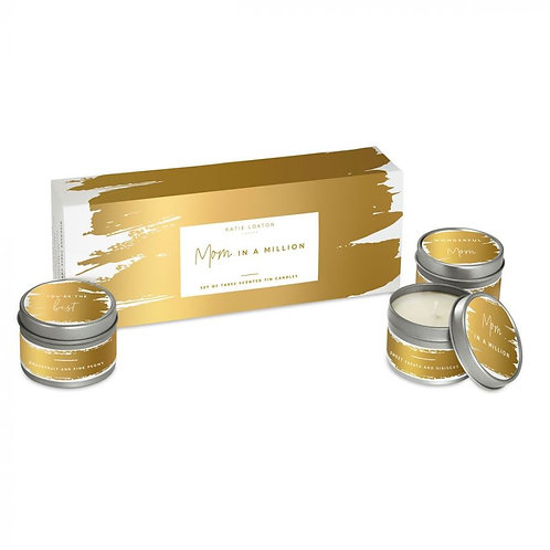 Katie Loxton, Mom in a Million Trio Candle Gift Box
