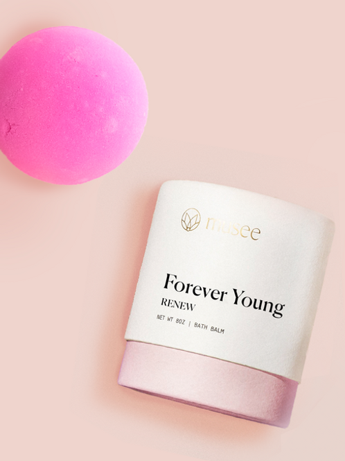 Musee Renew Boxed Bath Balm, Forever Young