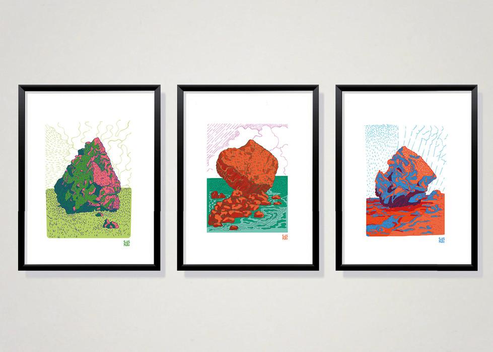 Boulder Illustraties