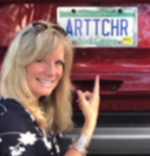 My bio photo - I am the forever Art Teacher / Advocate