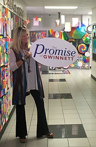 "I was a featured ""Promise of Gwinnett"" Teacher in 2017"