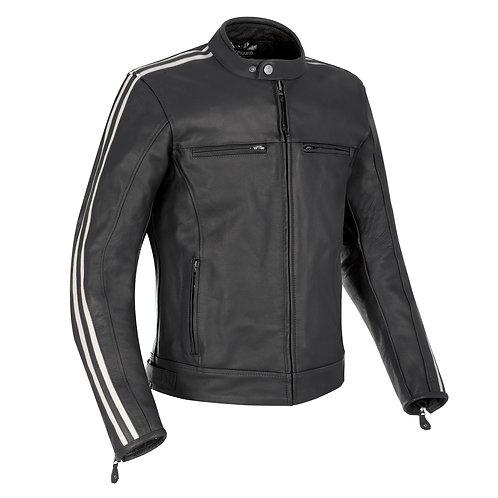 Oxford Bladon Leather Jacket Black 2XL