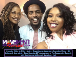 Audrey Egypt Young, Bill Bellamy & Ciara Ross The Movement Magazine