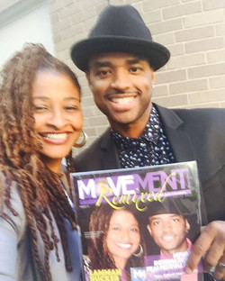 #AudreyEgyptYoung & #LarenzTate