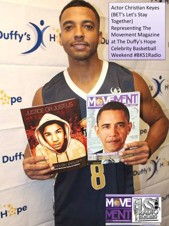 Facebook - Actor Christian Keyes (BET's Let's Stay Together) Representing The Mo