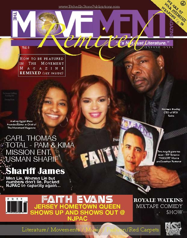 Vol 8 Faith Evans on TheMovement Mag