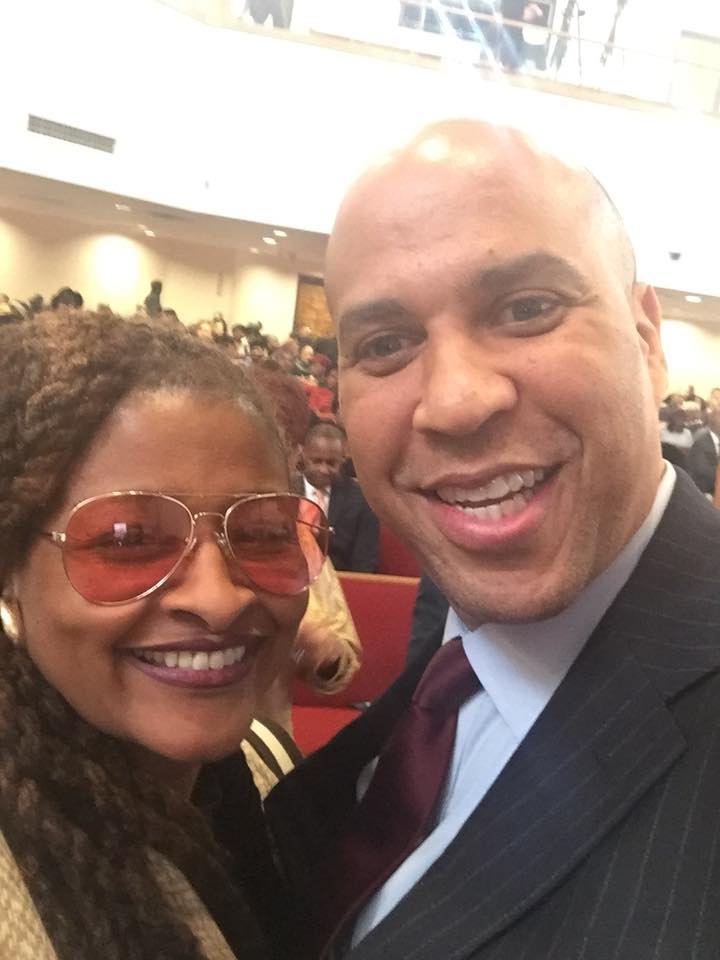 Egypt Young & Senator Cory Booker