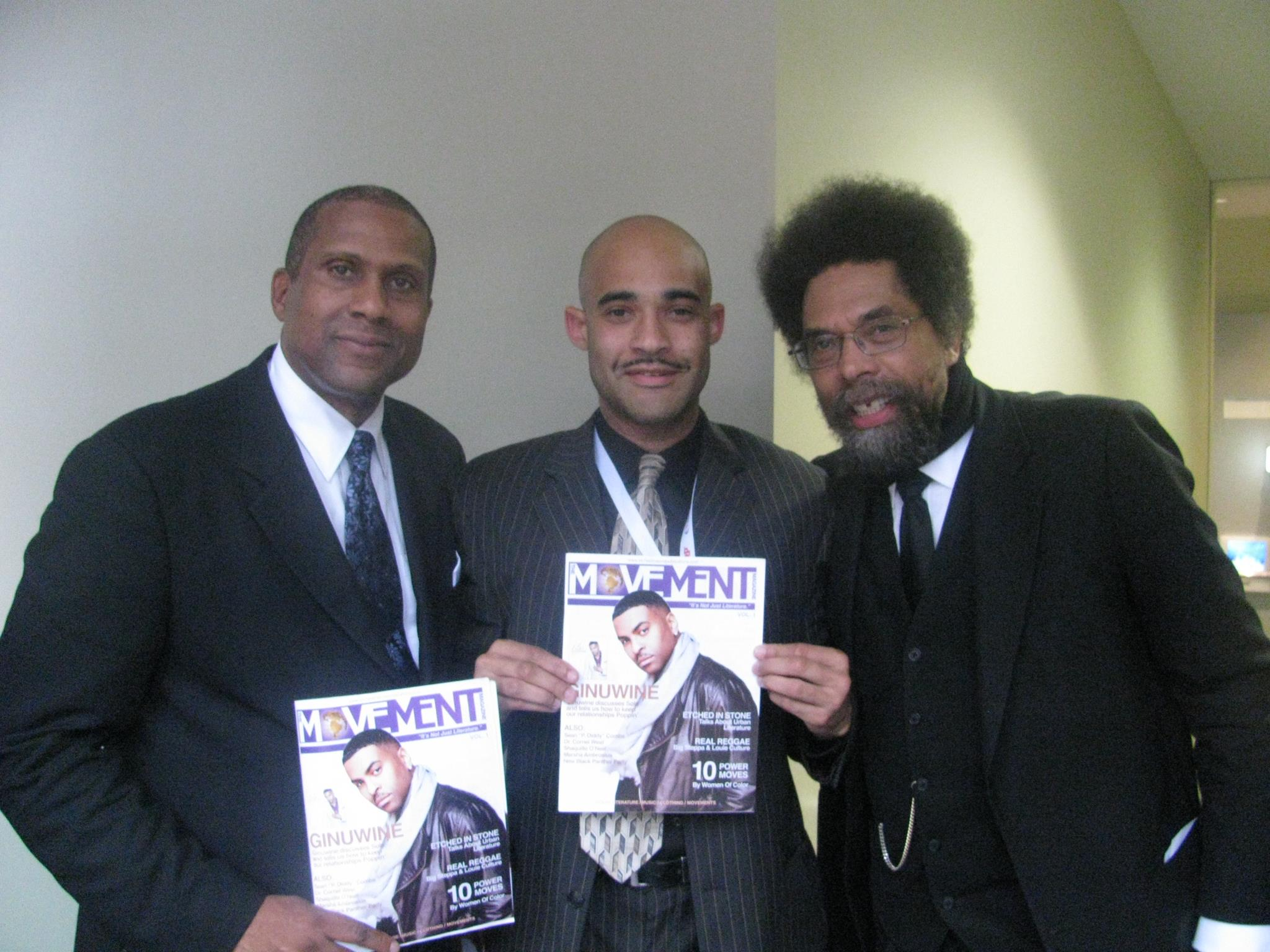 Tavis Smiley, Doshon & Dr. Cornell West