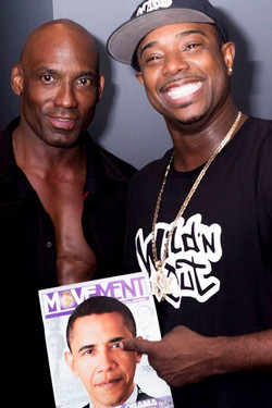 Facebook - The Movement Magazine team Celebrity Trainer Michael Jasper after our