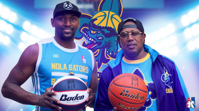 GMGB President Master P signs the legendary Ron Artest aka Metta World Peace to his New Orleans Gato