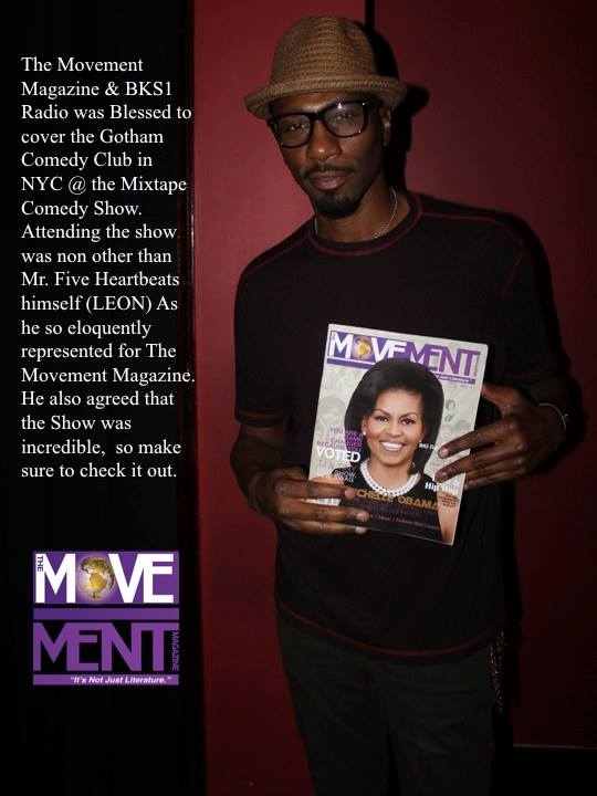 Facebook - The Movement Magazine & BKS1 Radio was Blessed to cover the Gotham Co