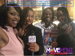 Ciara Ross, Audrey Egypt Young, Joe Adams & Tonya Young The Movement Magazine