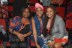 Angela Dixie, Kim Hawthorne & Egypt Young