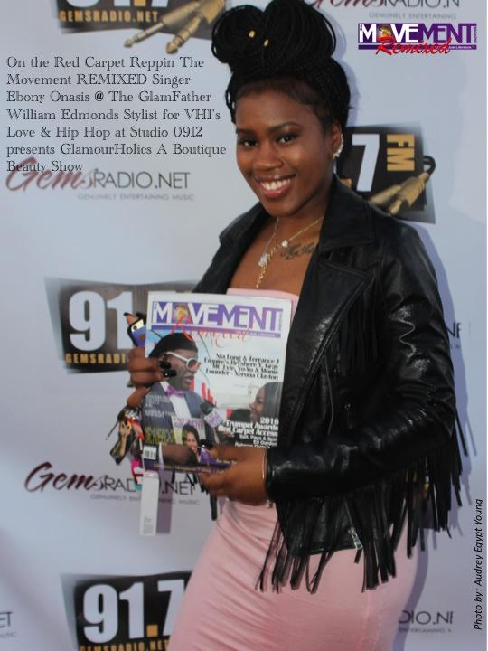 Ebony Onasis reppin MOVEMENT