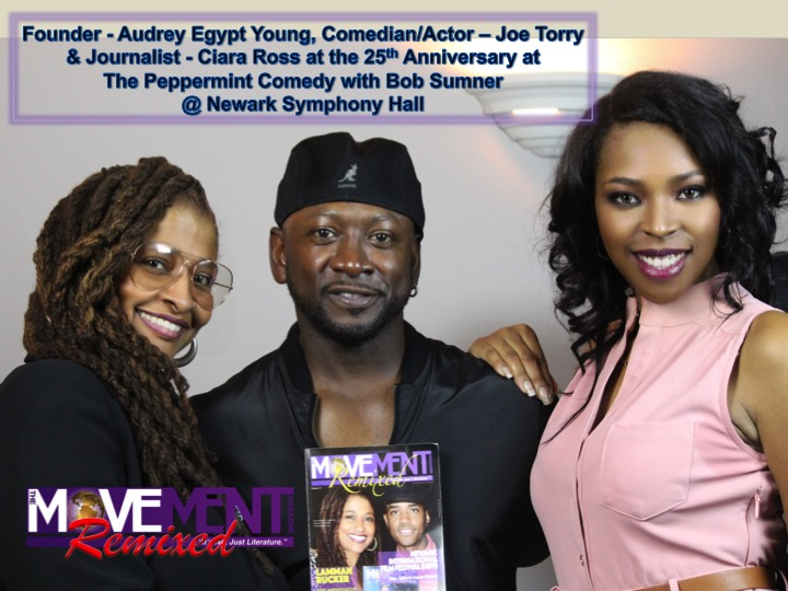 Audrey Egypt Young, Joe Torry & Ciara Ross The Movement Magazine