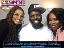 Audrey Egypt Young, TK Kirkland & Ciara Ross The Movement Magazine