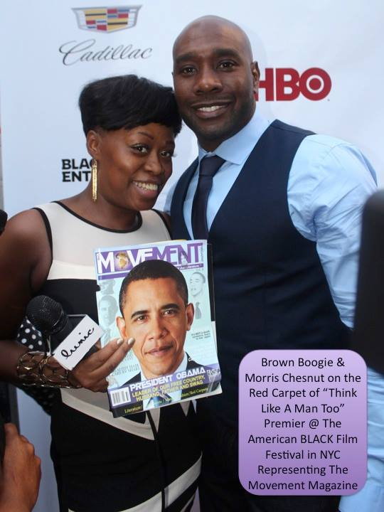Brown Boogie & Actor Morris Chesnut