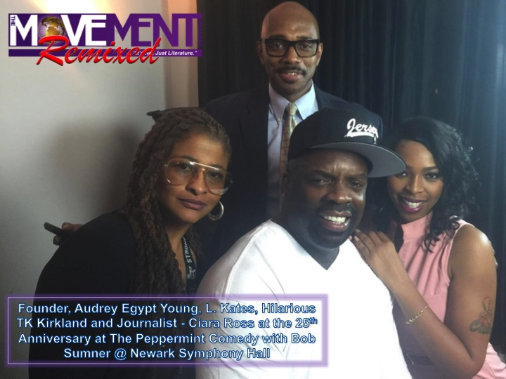 Audrey Egypt Young, L Kates, TK Kirkland & Ciara Ross The Movement Magazine