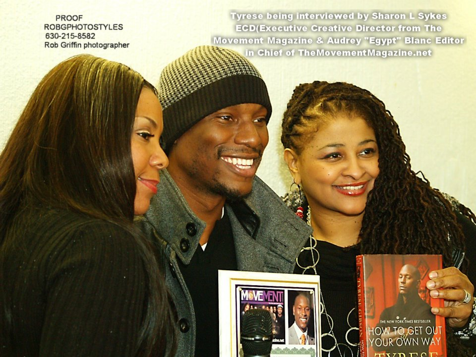 Sharon, Tyrese & Egypt