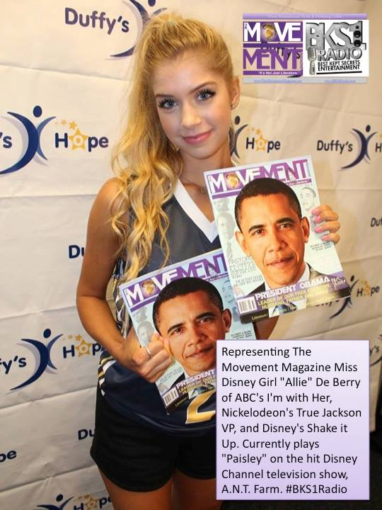 "Facebook - Representing The Movement Magazine Miss Disney Girl ""Allie"" DeBerry o"