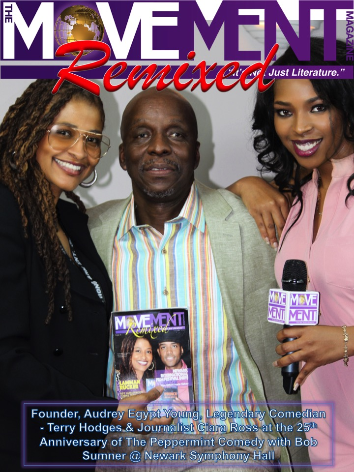 Audrey Egypt Young, Terry Hodges & Ciara Ross The Movement Magazine