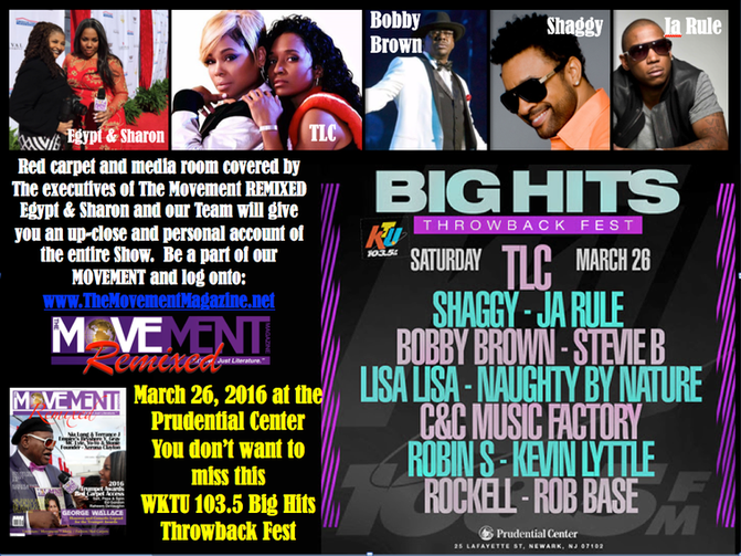 Big Hits Throwback Fest covered by The Movement REMIXED @ The Prudential Center 3-26-16