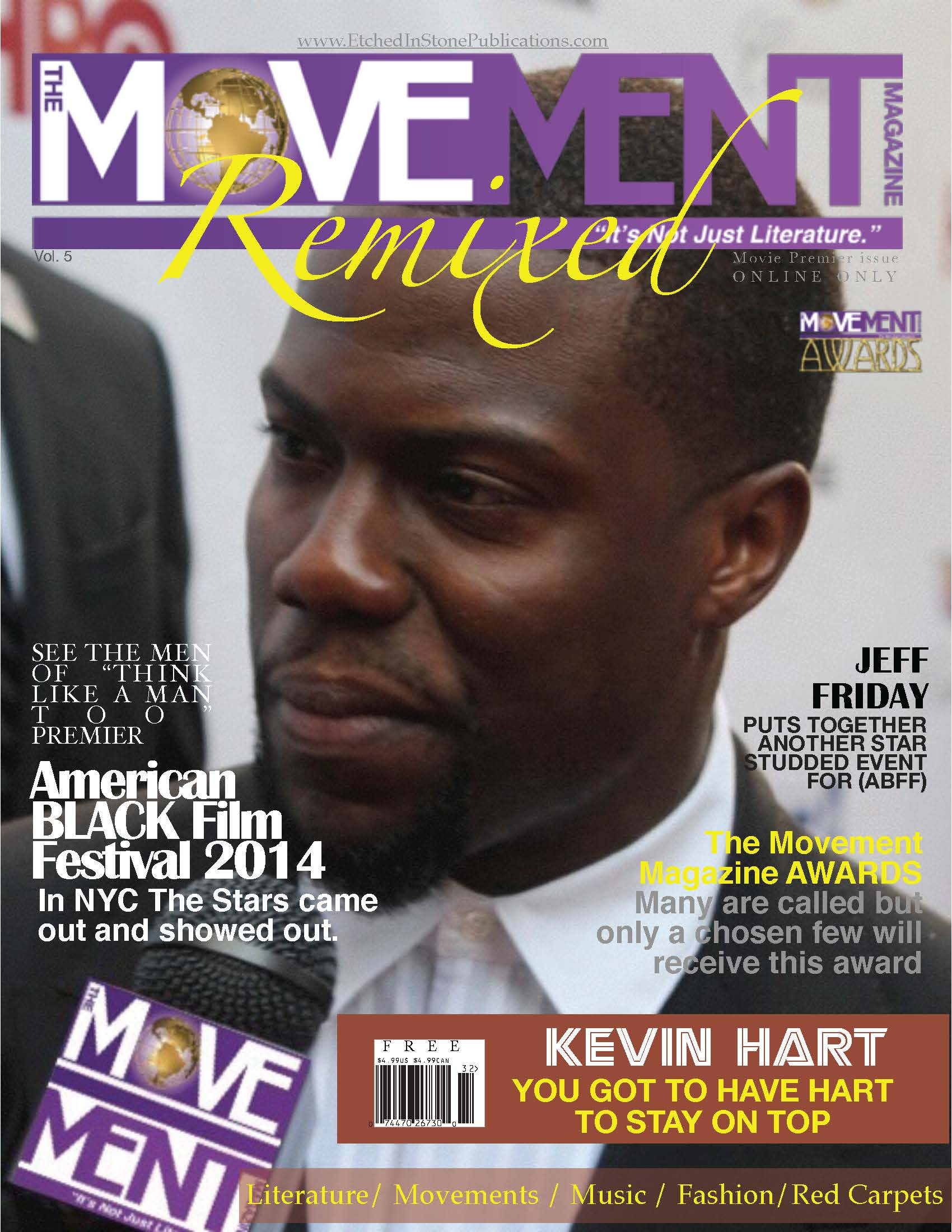 Vol 5 with Kevin Hart Cover