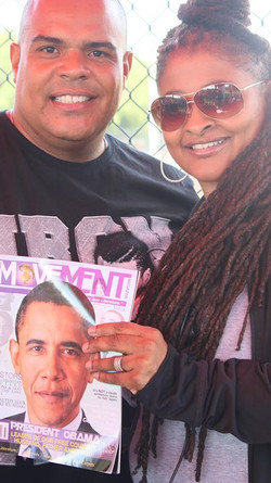 Facebook - Egypt and Hot 97s own DJ Enuff at prospect Park in Brooklyn NY at a c