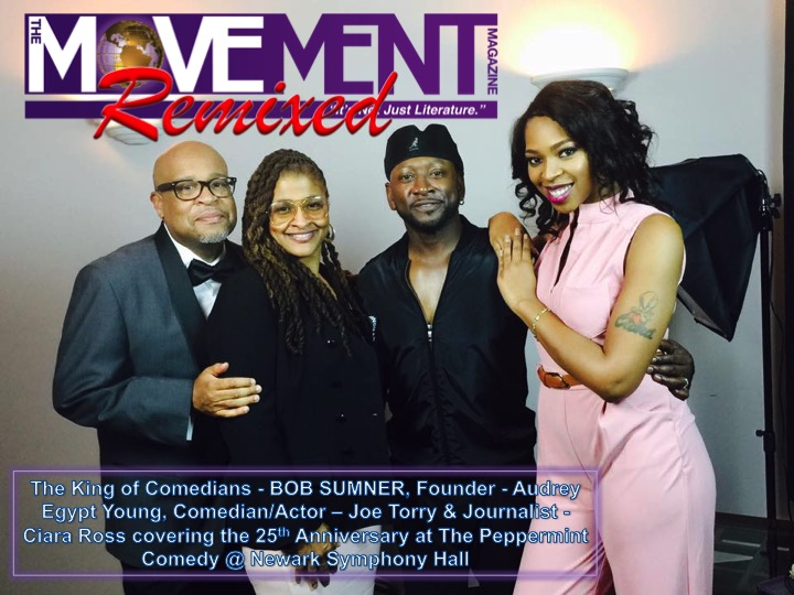 Bob Sumner, Audrey Egypt Young, Joe Torry & Ciara Ross The Movement Magazine