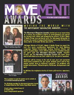 The Movement Magazine AWARDS