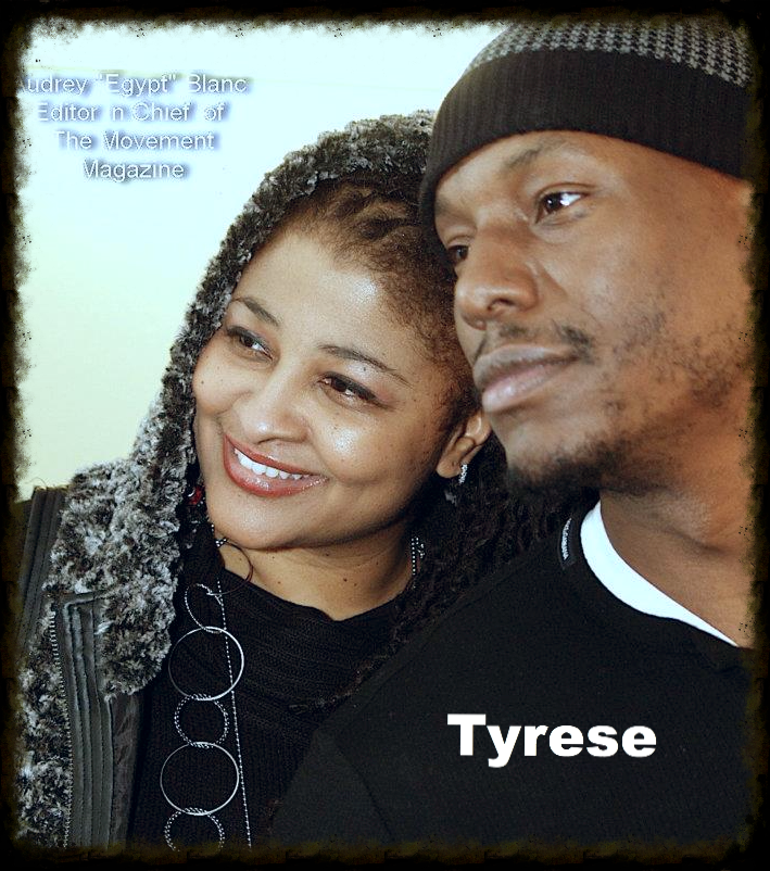 Egypt & Tyrese Singer/Actor/Author