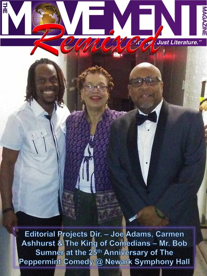 Joe Adams, Carmen Ashhurst & Bob Sumner The Movement Magazine