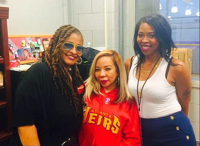 "Tameka Tiny Harris Making BOSS Moves as the NEW Owner of the ""Atlanta Heirs"" Professional"
