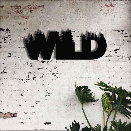 Wild - Metal Tablo