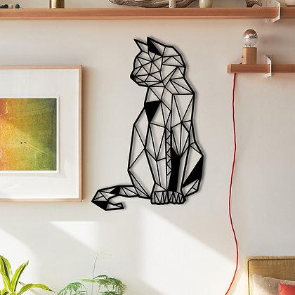 Cat - Metal Dekorasyon