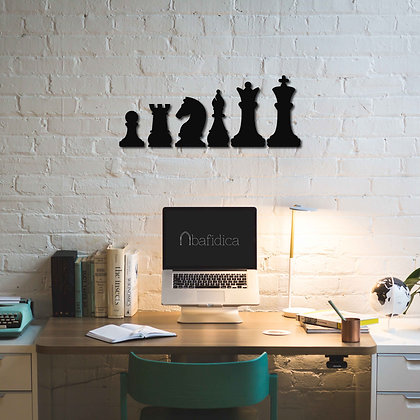 Chess Set - Metal Tablolar