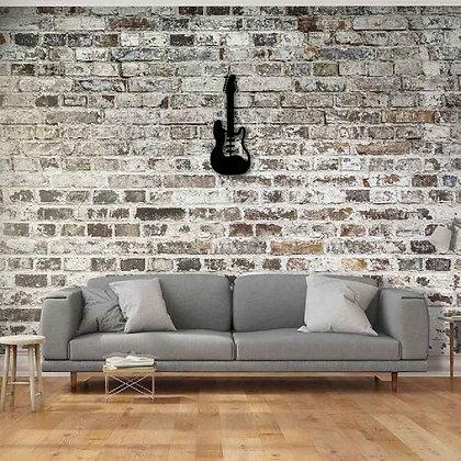 Bass Guitar I - Metal Dekorasyon
