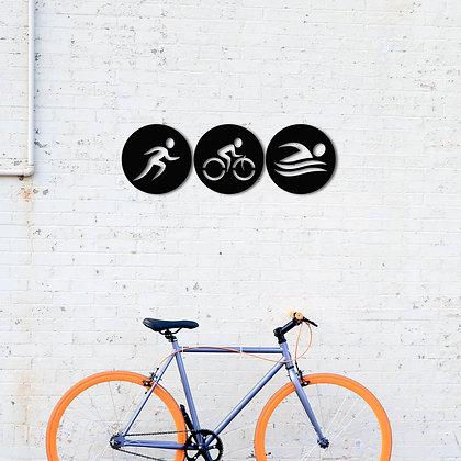 Triathlon - Metal Tablolar