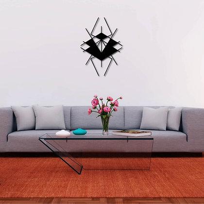 Geometric Insect - Metal Tablo