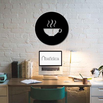 Cup Of Coffee - Metal Tablo