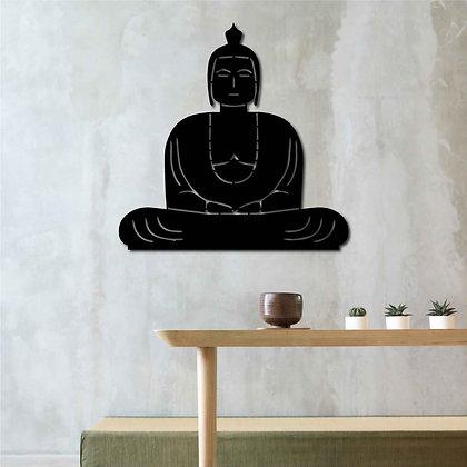 Buddha - Metal Tablo