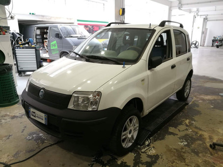 Fiat Panda - Wrapping su due automobili