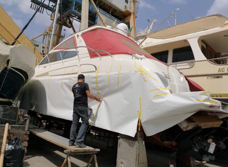 Yacht Airon Marine 43-t - da Rosso a Bianco