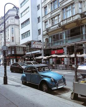 #vienna #Austria #classiccars #bluesky #