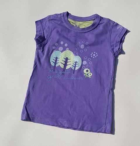 Regatta purple t-shirt. 3-4yrs